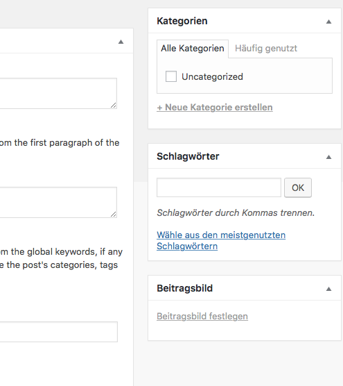 wordpress beitragsbild festlegen 2