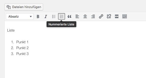 wordpress liste 2