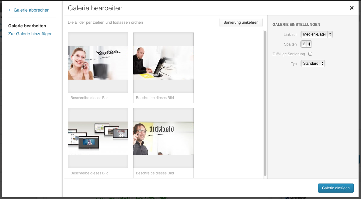wordpress-bildergalerie